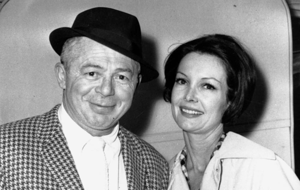 Billy Wilder e Audrey Young