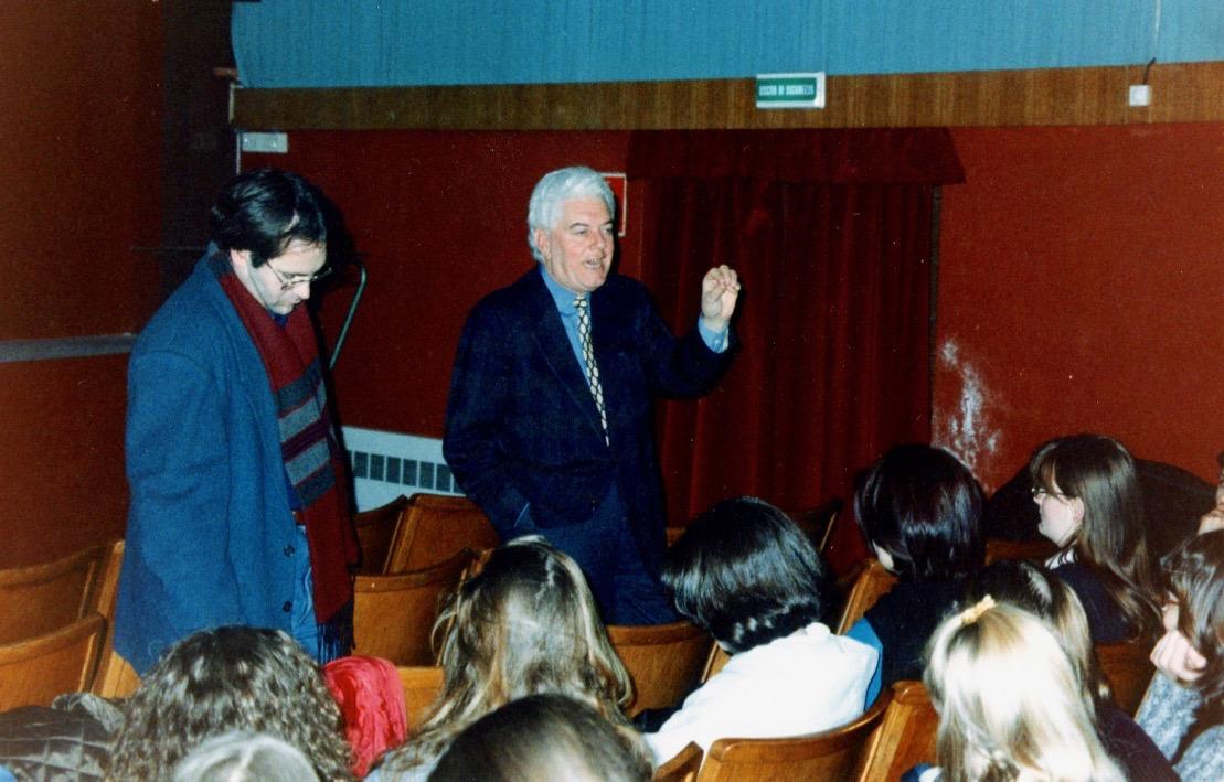 Ernesto Laura incontra le scuole al Cinema Turroni di Oderzo