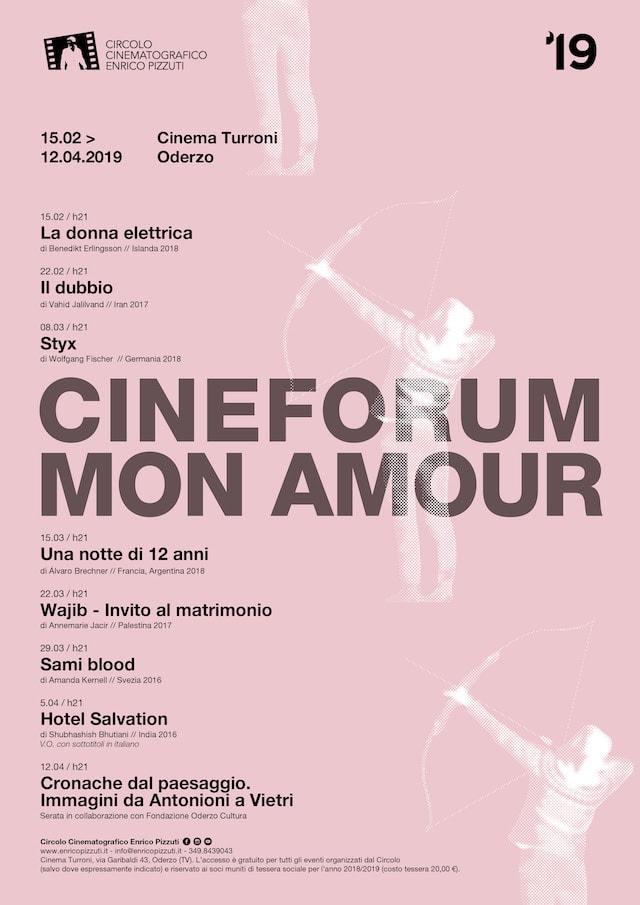 Cineforum Mon Amour 2019