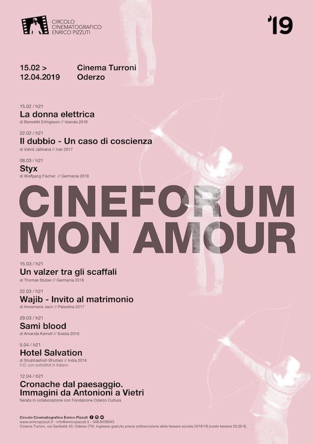 Rassegna Cineforum Mon Amour 2019