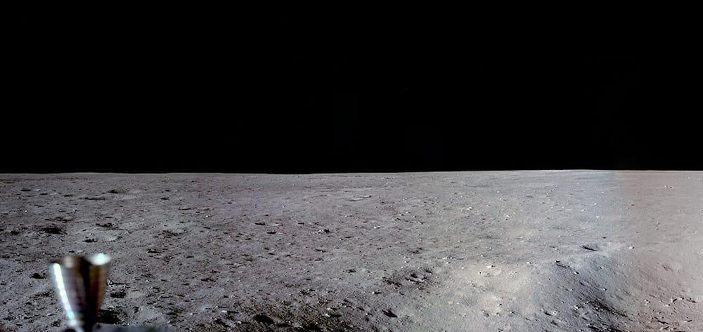 Il suolo lunare