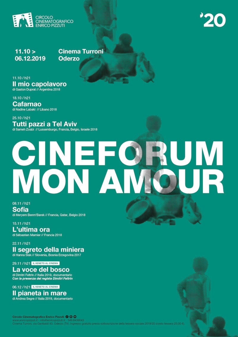 Cineforum Mon Amour - Autunno 2019