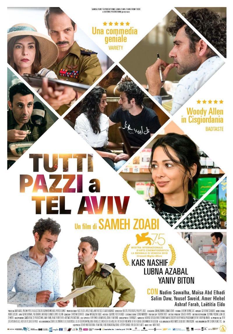 Tutti pazzi a Tel Aviv - Film in rassegna