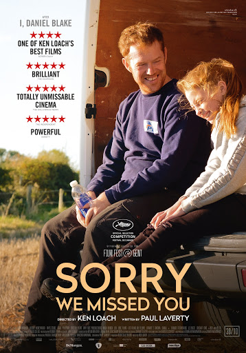 Sorry we missed you - Film in rassegna